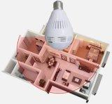 1.3MP 2MP Fisch-Augen-Glühlampe panoramisches IP 360 Grad-Kamera-Unterstützungs-Ableiter-Karte
