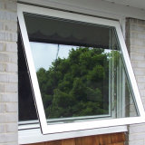 Double vitrage en verre auvent en aluminium Windows
