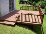 Le WPC Conseil utiliser pour un revêtement de sol de plein air dans le creux pont composite de type