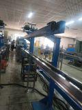 Cabo de fibra óptica opcional de cor da linha de produção da máquina de extrusão de fios