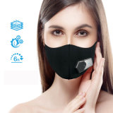 Anti poluição fumaça de segunda mão Máscara elétrica inteligente com a ventoinha e Válvulas