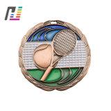 Новые продажи Badmiton футбол баскетбол Custom металлические спорта медаль