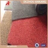 Китай ПВХ опорной PP вырезать ворсом коврик для травяных культур для сада