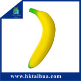 Giocattoli spumosi aumentanti lenti delicatamente Squishy artificiali di sforzo della frutta dell'unità di elaborazione della banana di vendita calda