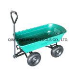 Einfach, Karre des Garten-zu transportieren faltende Kippwagen-Tc2145