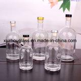 Tutto il formato ha colorato la bottiglia di vino di vetro 750ml con il tappo immagazzinata