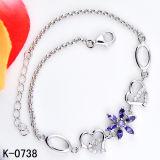 Bisutería Diamante de piedra de zirconio Bangle Bracelet para mujeres