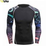 Abbigliamento Sportivo - Uomo, Poliestere Personalizzato E Camicia A Compressione In Elastan