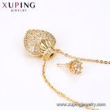 La joyería de oro de la moda collares de piedras naturales