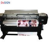 Длина 1,9 м - С ДВУМЯ XP600 головок струйных широкоформатных принтеров экологически чистых растворителей на открытом воздухе в помещении