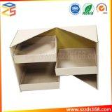 3 couches de papier Kraft personnalisés la fermeture de porte de la conception spéciale boîte cadeau