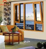 2018 Nuevo Diseño Diseño de ventanas de aluminio toldo
