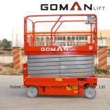 Équipement de levage de l'alimentation de batterie hydraulique Table élévatrice à ciseaux de levage