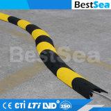 Canal de 10mm Protector de cable de la Serpiente del conducto de cable de PVC