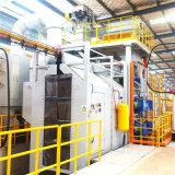Banheira de vendas especiais de alta qualidade Billet Actualizado Granalhagem Máquina para a Indústria de Máquinas Agrícolas à prova de corrosão na superfície