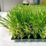 Moquette artificiale della moquette dell'erba del tappeto erboso e dell'erba di falsificazione per il giardino