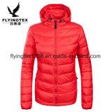 Женщин/ дамы зимой колпачковая куртка Packable космического пространства в занятия спортом на открытом воздухе износа