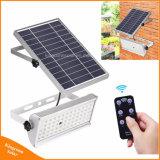 1500lm Projecteurs solaire jardin extérieur 65Projecteur à LED avec capteur de mouvement de commande à distance