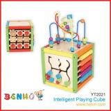 Houten Speelgoed - Intelligente het Spelen Kubus (YT2021)