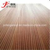 La chapa de madera contrachapada de MDF Blockboard Natural 1220*2440*18mm Sapele Sapeli Nogal El roble rojo 11 mm.
