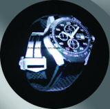 Ojo desnudo en 3D holográfica del ventilador de LED para interiores, la publicidad de alta resolución y la imagen viva
