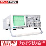 40MHz oscilloscope portable Dual Channel Oscilloscope Oscilloscope analogique à faible coût (SMI V-5040)