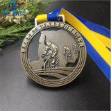 Personnalisé de haute qualité en 2D/3D pour la Médaille de souvenirs sportifs de placage (MD10-A)