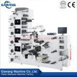 Impression des étiquettes Flexo Machine automatique de rouleau de papier pour imprimante numérique de l'autocollant de la paille étiqueteuse fabriqués en Chine