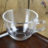 小型コーヒーマグ透明グースティーカップ用取っ手付き モダンなスタイル