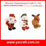 Decorazione di festa del giocattolo farcita natale della decorazione di natale (ZY15Y057-1-2) da vendere il prodotto del cinese