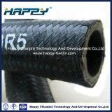 Einzelnes Draht-Flechten-Gewebe bedeckte hydraulischen Schlauch SAE R5