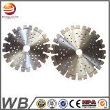 Soldadura por láser de diamantes de la hoja de sierra de mármol de corte de concreto
