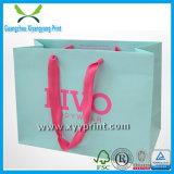 Мешок изготовленный на заказ цветастой покупкы бумажный для одежды
