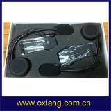 De nieuwste Hoofdtelefoon van de Helm van Bluetooth van de Motorfiets met Intercom 1km