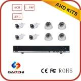 8CH DVR 720p Ahd Überwachungskamera Kits