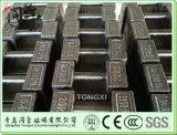 Fusioni pesi di ferro di blocco di prova pesi 5kg 10kg 20kg contrappeso