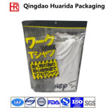 Sac de empaquetage de vêtement auto-adhésif rescellable en plastique transparent d'OPP/BOPP
