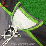 100%年のポリエステル刺繍カスタム名前または番号アイスホッケーのワイシャツ