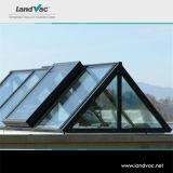 Landvac الزخرفية الملونة فراغ زجاج المسطح المستخدمة في المباني الزجاج الحائط الساتر