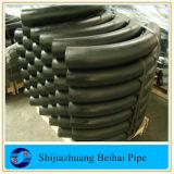 Encaixe de tubulação do tamanho do aço de carbono 90 3D da curvatura 5D grande