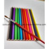 Ensemble de crayons de couleur soluble dans l'eau 12PCS avec logo personnalisé