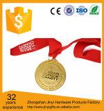 締縄が付いている2017年のメダル/3D合金メダル