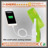 Ventilador Solar com luz de leitura LED 21 SMD, tomada USB