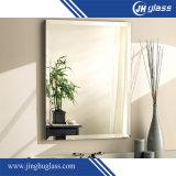 specchio di alluminio della pittura della parte posteriore di Grey di 6mm per la stanza da bagno
