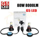 PANNOCCHIA H4 H7 9005 del faro di G5 4000lm LED indicatore luminoso dell'automobile dei 9006 LED per l'automobile