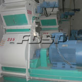 China-Hersteller-Geflügel führen Produktionszweig Kleinkapazitätsvieh 5-6tph Zufuhr-Zeile