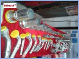 Великобританский штуцер Bsp гидровлический с Zinc-Plated (22611D)