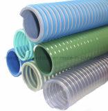 PVC transparent tuyau flexible de jardin d'aspiration