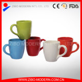 Taza de cerámica del café con leche de la taza llana al por mayor del té