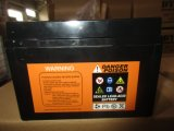 12V9ah 9asealed wartungsfreies Leitungskabel-saure Motorrad-Batterie